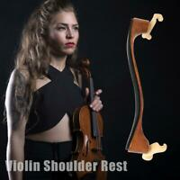 Maple Wood Violin Shoulder Rest for 3/4 4/4 Full Size Violin Accessories Newly