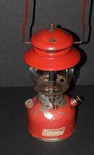 Vintage 3/69 Coleman Red Model 200 Lantern Camping