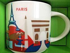 Starbucks City Mug, PARIS (FRANCE) «You Are Here» Collection, SKU Code,14oz.