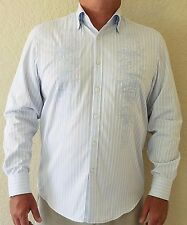 Tommy Bahama Denim Long Sleeve Men's Button Down Shirt, Size Large