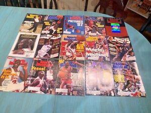 Lot Of 15 Michael Jordan Sports Illustrated Magazines 1987-2002