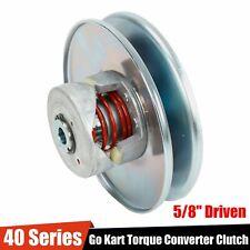"""40 Series Go Kart Torque Converter 5/8"""" Driven Clutch Fit Comet 40D Manco 2432"""