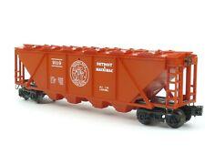 Lionel 6-9119 Detroit Mackinac Covered Hopper O Gauge Model Trains Freight Cars