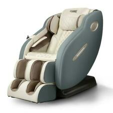 Livemor Ozeni 3D Electric Massage Chair - Navy/Cream