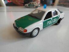 Schabak Ford Sierra Polizei in White/Green on 1:43