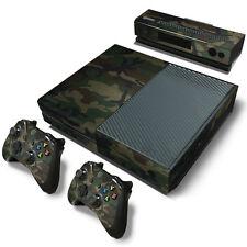 XBOX ONE Skin Design Foils Aufkleber Schutzfolie Set - Camouflage 3 Motiv