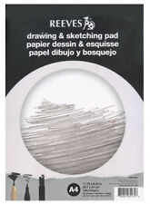 Charcoal and Pen. Acid-Free Paper with Wirebound Spine Ideal for Use with Pencil Mont Marte Sketch Book 150gsm A5 30 Sheet 4 Pack
