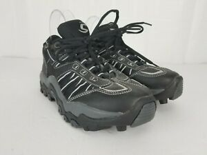 Cannondale CS  Mountain Bike Shoes Womens Size 6 Black Lace up 2 Cleat Nov 2006