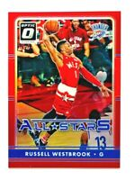 2016-17 Panini Optic Russell Westbrook RED HOLO Prizm Card All Stars SP #/99!