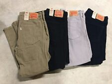 new mens levis 502 taper stretch regular fit pants corduroy