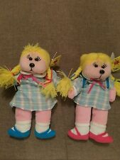 BEANIE KIDS - JESSICA THE SCHOOL GIRL BEAR **COMMON & MUTATION SET** (MWMT)