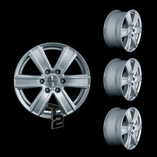 4x 16 Zoll Alufelgen für Ford Ranger / Dezent TJ SUV 8x16 ET35 (2500107)