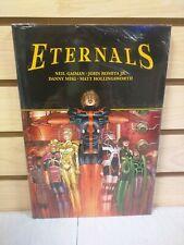 Eternals by Neil Gaiman & John Romita Jr Hardcover - New & Sealed Marvel Hc