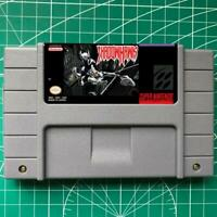 Shadowhawk SNES Video Game USA Version