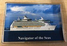 Royal Caribbean NAVIGATOR OF THE SEAS Large Fridge Magnet Cruise Ship S'oton