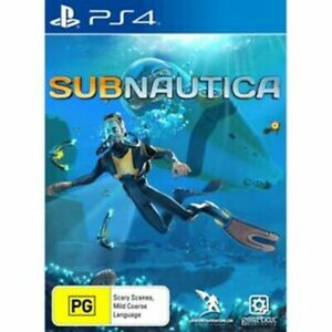 Subnautica PS4 Playstation 4 LIKE NEW FREE POST + TRACKING AU SELLER AU