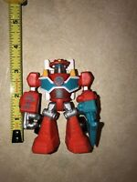 "Hasbro Playskool Heroes Transformers Rescue Bots Heatwave Fire-Bot LOOSE 3.5"" 1#"