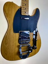 FENDER 50s TELECASTER WITH BIGSBY ANTIQUE NATURAL CRAFTED IN JAPAN 2004 - 2005