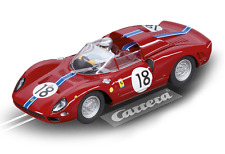 CARRERA 27536 FERRARI 365 P2, NO. 18 NEW EVOLUTION 1/32 SLOT CAR IN DISPLAY