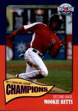 2013 Salem Red Sox Carolina League Champions #2 Mookie Betts - NM Baseball Card