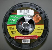 ECHO .080 CROSSFIRE STRING TRIMMER LINE 3 POUND SPOOL 1206' PART # 314080052 NEW