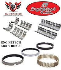 ENGINETECH CHEVY BBC 454 7.4 ROD - MAIN BEARINGS WITH MOLY PISTON RINGS 91 - 00