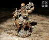 Old Antique Tea Pet Pure Solid Copper Longevity god ride deer Chinese Statue