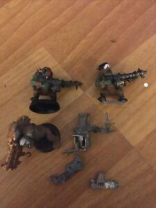 Warhammer 40k Space Ork Heavy Weapons Plastic Bits