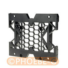 """5.25"""" to 3.5"""" 2.5"""" SSD Hard Drive Adapter TRAY with Screws can mount Fan"""