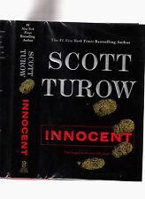 SCOTT TUROW-INNOCENT-SIGNED 1ST ED 2010 LIKE NEW HB/DJ SUPERB COURTROOMTHRILLER
