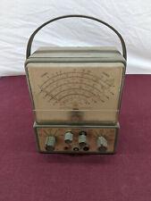 New listing Vintage Uel United Electronics Labs Ohms Meter Tester Model 201 Untested
