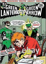 GREEN LANTERN GREEN ARROW 85 COVER PRINT Speedy Drug Story