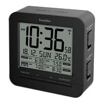 Radio Controlled  4 x Times Alarm Clock  ( Offical UK version ) with Back Light