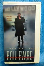 BOULEVARD OF BROKEN DREAMS VHS Tape 1994 Drama John Waters Clamshell Case