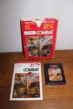 JEU ATARI 2600 VIDEO COMPUTER SYSTEM COMBAT CX2601