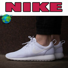 Nike Men's Size 10.5 Roshe One Running Sneakers Triple White 511881 112