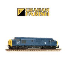 Graham Farish 371-450A Class 37/0 37041 BR Blue Split Head Code N Gauge