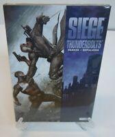 SIEGE: Thunderbolts Avengers Marvel Comics Hard Cover HC New Sealed
