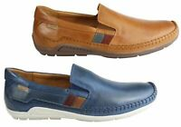 NEW PIKOLINOS AZORES MENS LEATHER SLIP ON COMFORTABLE SHOES MADE IN SPAIN