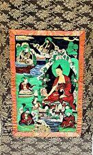 Antique Chinese Tibetan Painting Thangka
