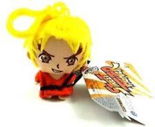 Oficial 25TH aniversario Street Fighter Ken Llavero-Capcom-Suave Felpa-NUEVO