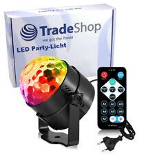 LED Disko Lampe Partylicht Musikgesteuert für Party Kinder Geburtstag Licht
