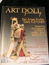 ART DOLL QUARTERLY~SUMMER 2005 Vol 3-#2~mixed doll patterns~techniques~magazine
