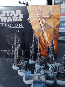 Star Wars: Legion - Priority Supplies Battlefield Expansion PAINTED