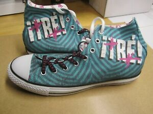 Green Day, Converse Sneakers, Tre...part of the 2012 Trilogy Size 11, New