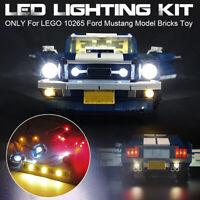 USB LED Light Lighting Kit Only For LEGO 10265 For Ford Mustang Model Brick