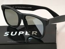 Retrosuperfuture Classic Black Matte Zero Frame Sunglasses SUPER QLD NIB