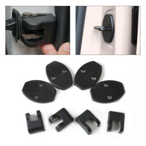Door Striker Lock Protector Check Arm Cover fit for Audi A5 A7 VW Passat Polo Hf