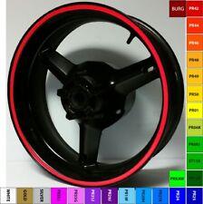 RED REFLECTIVE WHEEL STRIPES RIM STICKERS TAPE DECAL HONDA CBR 900RR 929RR 954RR