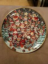 Franklin Mint Santa Claws by Bill Bell Le Porcelain Collector Plate